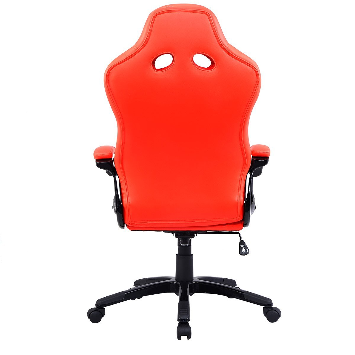 Amazon.com: Costway Bucket Seat Office Desk Chair High Back Race ...