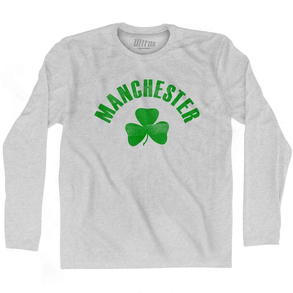 Ultras Manchester City Shamrock Cotton Long Sleeve T-Shirt