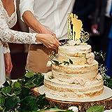 P Lab Personalized Cake Topper Bride Groom Last