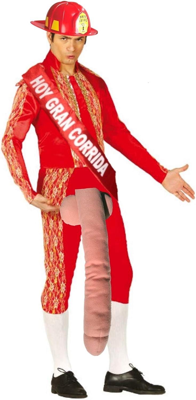 Disfraz de Bombero Torero - Hombre, L: Amazon.es: Ropa y accesorios