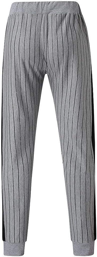 Fitness Sporthose Lange Hausanzug 2 teilig Riou Jogginganzug Herren Trainingsanzug Sportanzug M/änner Herbst Winter Langarm Streifen Rei/ßverschluss Sweatjscke Sweatshirt Pulli