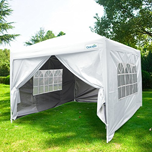 Quictent-Silvox-Waterproof-10×10-EZ-Pop-Up-Canopy-Commercial-Gazebo-Party-Tent-White-Portable-Style-Removable-Sides-With-Heavy-Duty-Bag