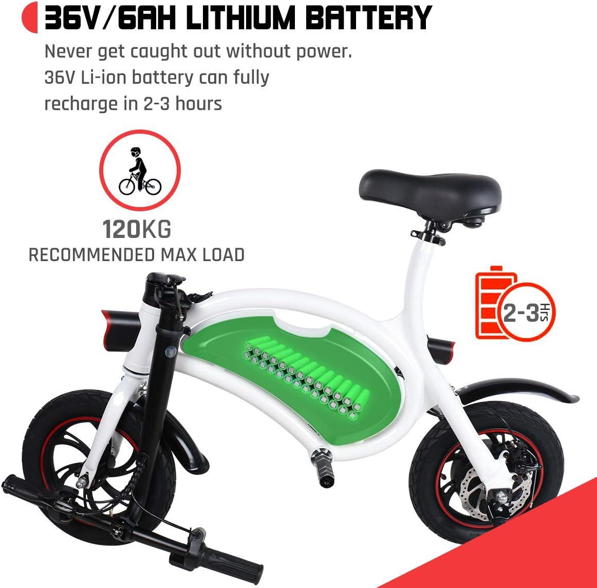 Draisienne électrique Pliable Windgoo Vélo électrique Pliable - B3 Blanc