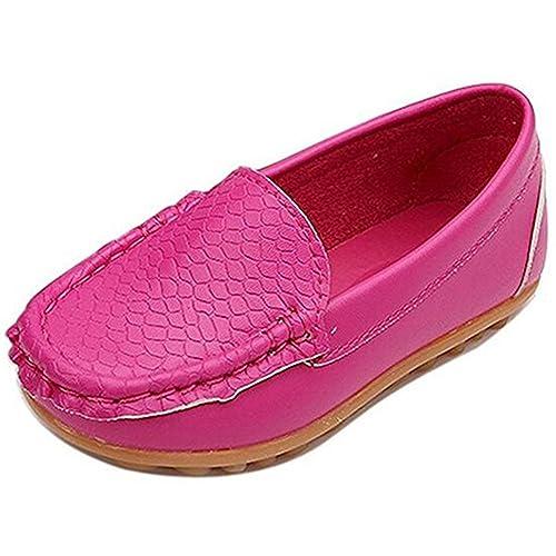 Gloria JR - Mocasines de piel para niña, color, talla Label Size EU 24: Amazon.es: Zapatos y complementos