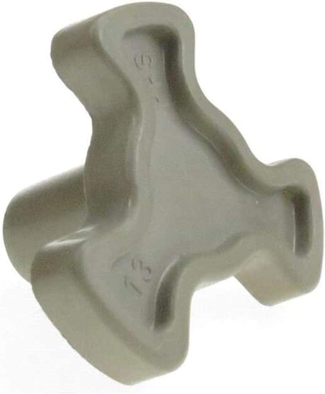 DUDDP Pieza de reparación Reparación Parte 4 PCS Universal Microwave Horno Embrague Glass TurnTable Acoplador Accionamiento de pieza de recambio Equipo de acoplamiento Microondas Modelo Accesorio Acce