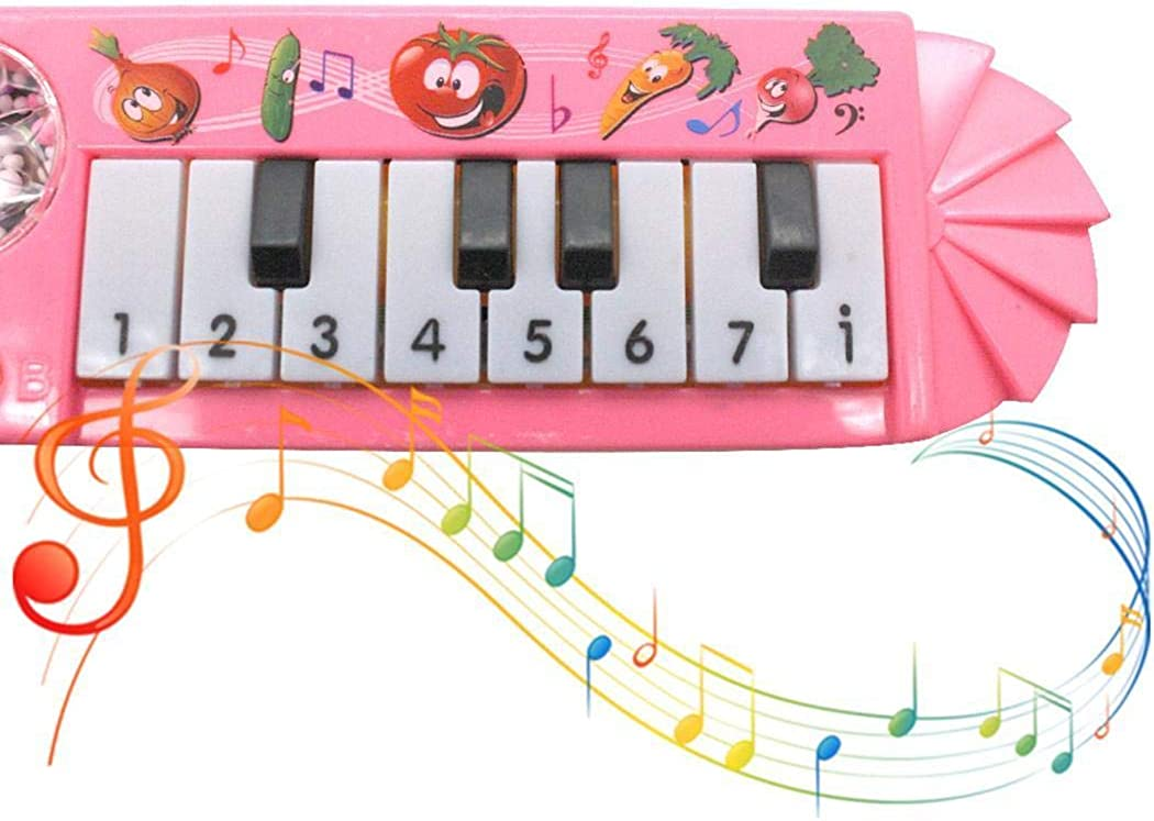 Dickin Portable Children Cute Keyboard Piano Early Educational Musical Toy Pianos /& Keyboards