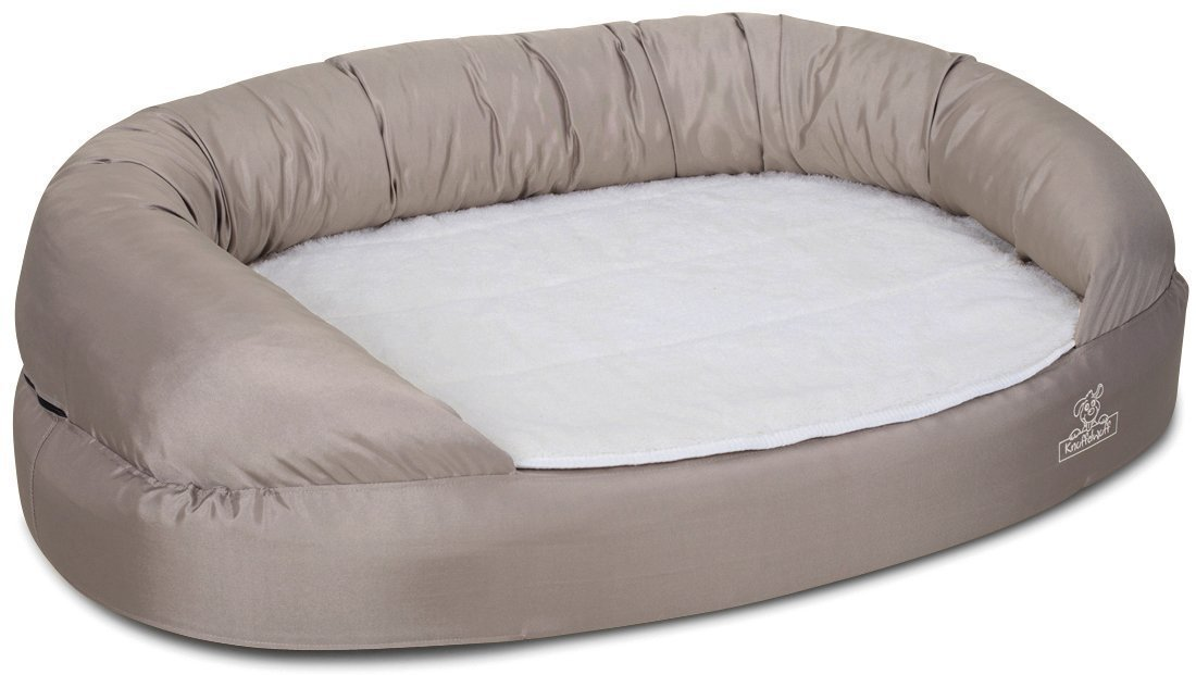 Knuffelwuff Orthopädisches Hundebett Ortho Bed Jessy 135cm beige