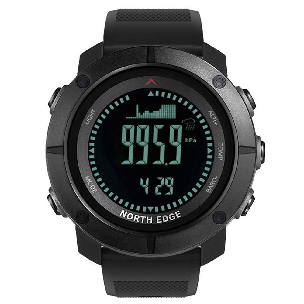Linbing123 Reloj Inteligente para Deportes al Aire Libre, brújula ...