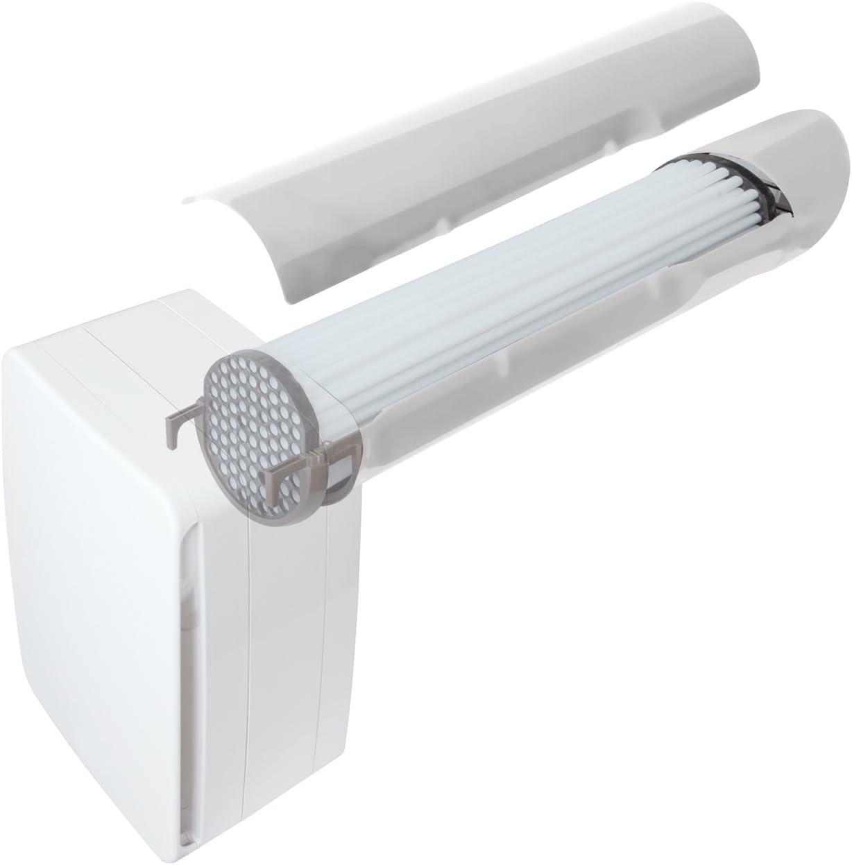 La ventilación v-eco100pl Recuperador de Calor A Doble flujo, longitud 46 cm: Amazon.es: Bricolaje y herramientas