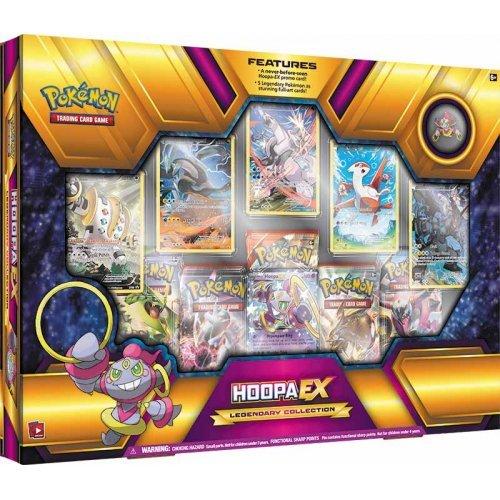 Pokemon TCG Hoopa EX Legendary Premium Collection Box Sealed (Black And White Legendary Treasures Booster Box)
