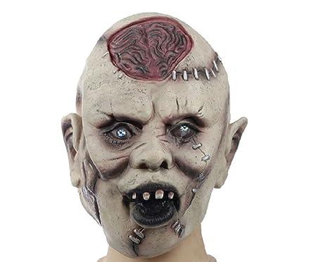 DaoRier 1pc Mascara Diseno de Craneo Esqueleto Para Halloween Máscaras Para Halloween Horror Zombie Cap