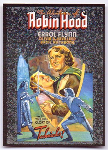 Posters Classic Vintage Collection Card #16 - The Adventures of Robin Hood (De Havilland Collection)