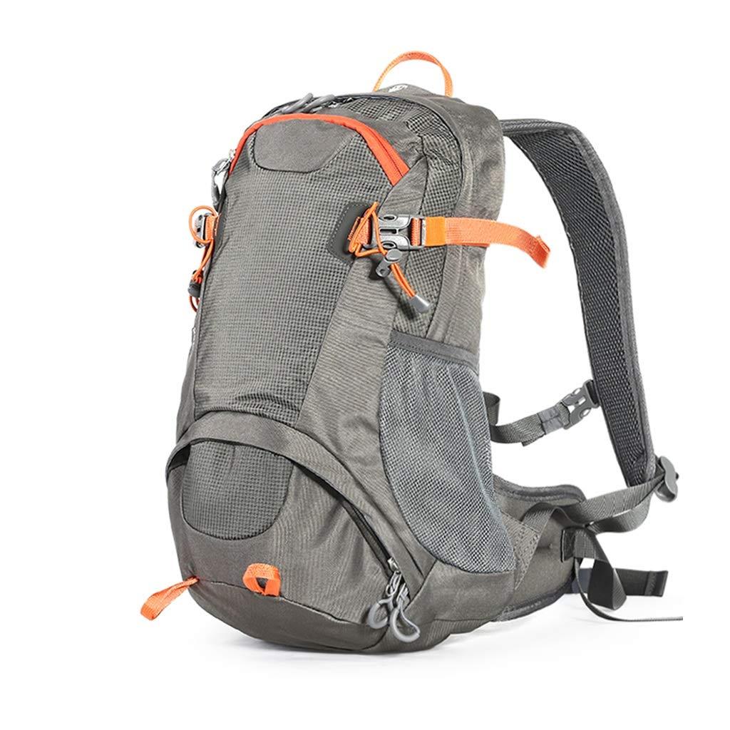 25lハイキングバックパック軽量防水リュックサック用旅行キャンプクライミング登山アウトドアスポーツ ZHAOYONGLI (Color : Gray, Size : 25L) B07SNBLWRX Gray 25L