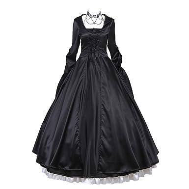 Coucou Age Vintage Gorgeous Victorian Renaissance Dress Ball Gown