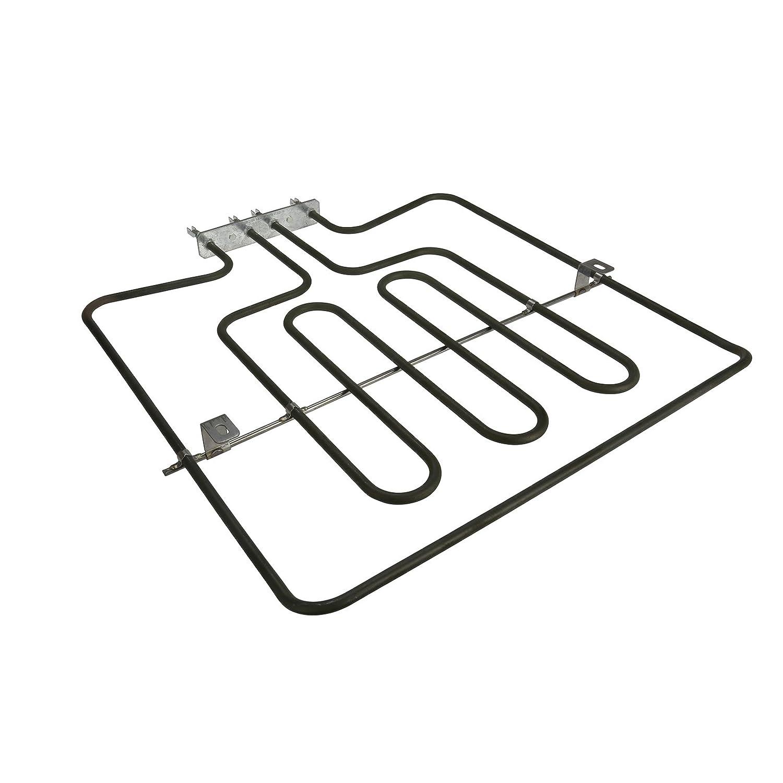 MasterPart 1000/2000W - Parrilla doble superior para horno ...