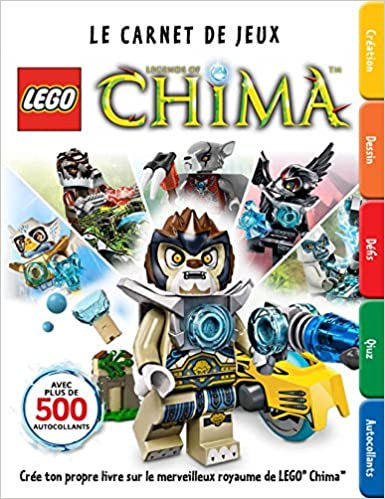 Télécharger en ligne LEGO Legends of Chima, Factivity - tome 0 - Lego Legends of Chima, Le carnet de jeux epub pdf