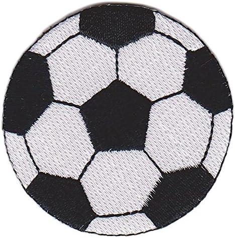 Balón de Fútbol Clásico Footbal Patch Negro Blanco Parche para ...