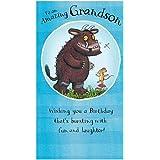 Amazing Grandson The Gruffalo Birthday Card