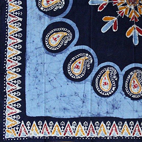 100 Square Print - Multi Batik Print 60