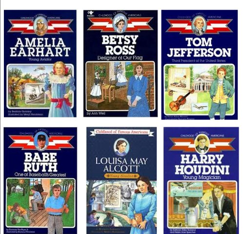 Biography Series (6) : Franklin Delano Roosevelt; Wilma Rudolph; Martin Luther King Jr ; Louisa Alcott; Betsy Ross; Amelia Earhart (Childhood of Famous - Kids Rudolph For Wilma