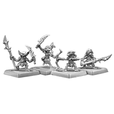 Goblin Warriors (4) Pathfinder Series Miniatures: Toys & Games