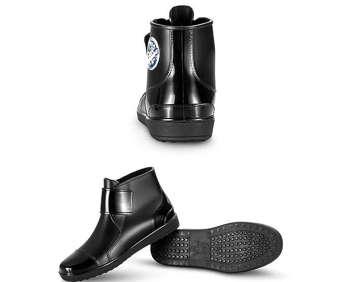 45e1c461c16bb Amazon.com: ZXCVBNM Men's Waterproof Shoes Short Tube Boots Summer ...