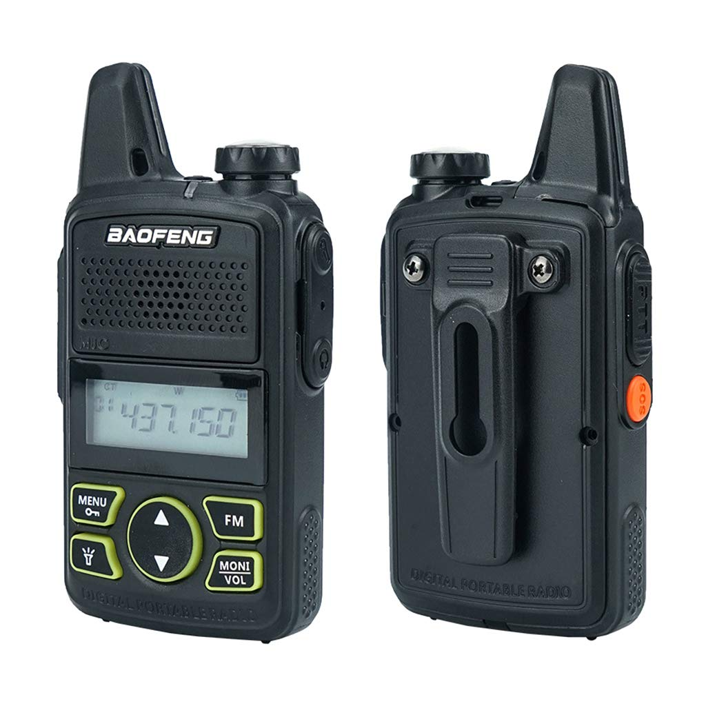 Yuly Two Way Radio BF-T1 Walkie Talkie UHF 400-470mhz 20CH Portable Ham FM CB Radio Handheld Transceiver 2pcs/lot BAOFENG T1 Mini by Yuly (Image #1)