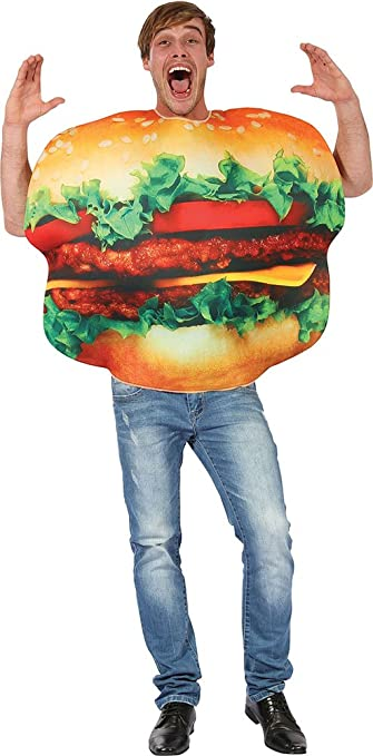 Erwachsene Comedy Fast Food Junggesellenabschied Kostüm Party Outfit ...