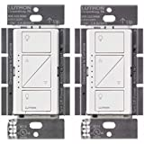 Lutron PD-10NXD-WH Caseta Pro In Wall Dimmer 250W LED (2 Pack