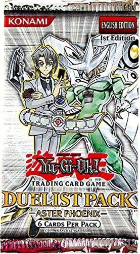YuGiOh Duelist Aster Phoenix Booster Pack [Toy] [Toy]: Amazon.es: Juguetes y juegos