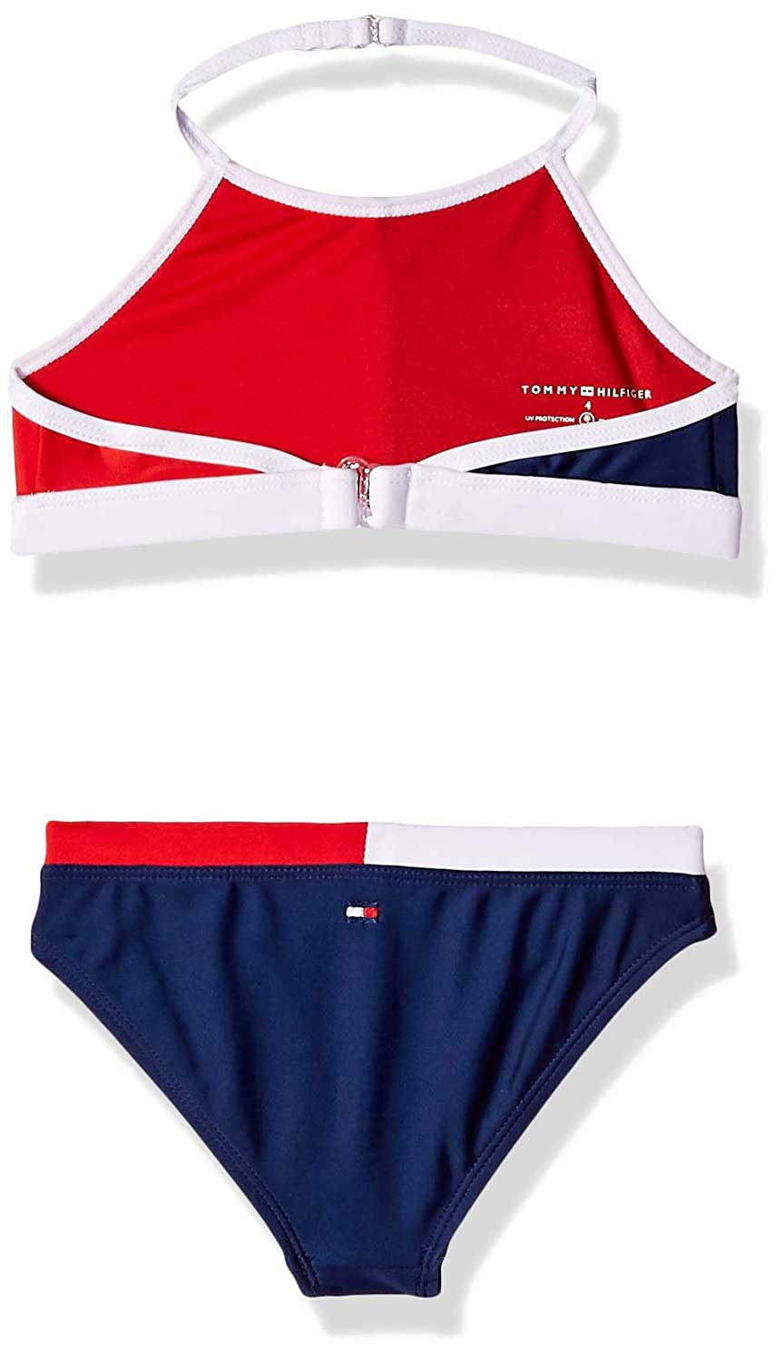 Tommy Hilfiger Girls Two-Piece Swimsuit