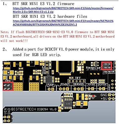 BIGTREETECH SKR Mini E3 V1.2 placa de control 32 bits integrada ...