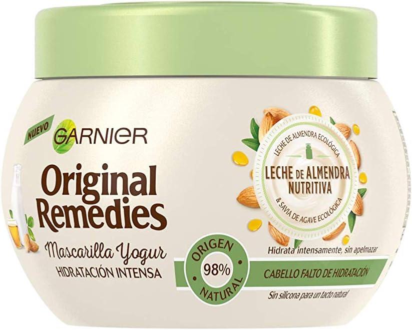 Garnier Original Remedies Mascarilla Yogur Leche de Almendra - pack de 6 x 300 ml (Total: 1800 ml): Amazon.es: Belleza
