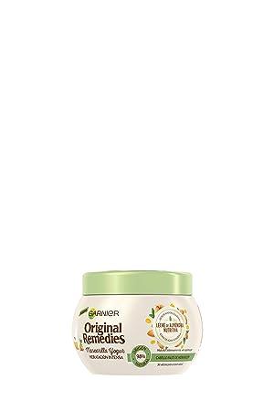 Garnier Original Remedies Mascarilla Yogur Leche de Almendra - pack de 6 x 300 ml (Total: 1800 ml)