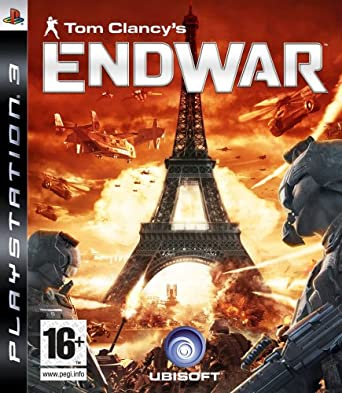 Tom clancy's endwar (limited wireless headset edition) xbox360.