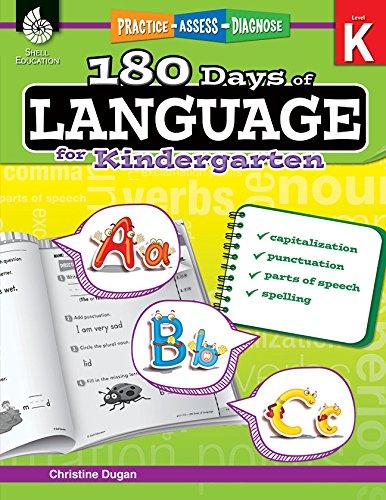 180 Days of Language for Kindergarten (180 Days of Practice)