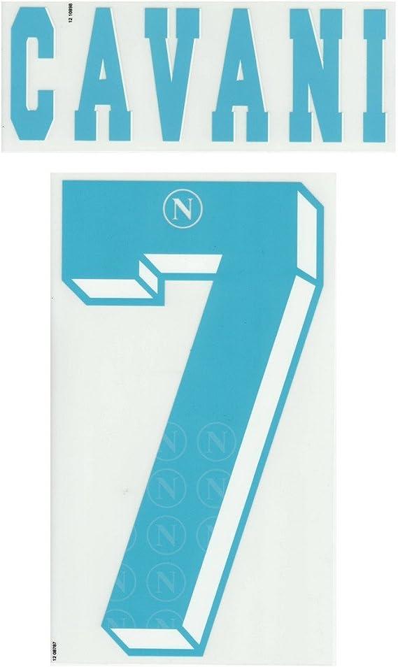 Napoli Cavani 7 Personalizzazione Maglia Away 2012 13 Azzurro 7 Cavani Amazon It Sport E Tempo Libero