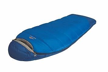 ALEXIKA Forester Compact - Saco de dormir (temperaturas extremas hasta -15°C), color azul y gris: Amazon.es: Deportes y aire libre