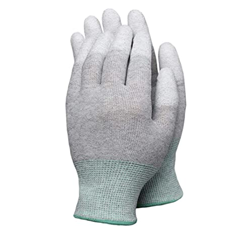 Anti Static Gloves Finger Protection Esd Electronic Working Safety Labor Gloves