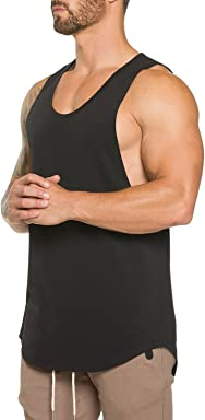 fa2a4f39f14ff Ouber Men s Gym Bodybuilding Workout Stringer Tank Top