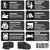 BUBM Cable Organizer Bag 3pcs Electronics Travel
