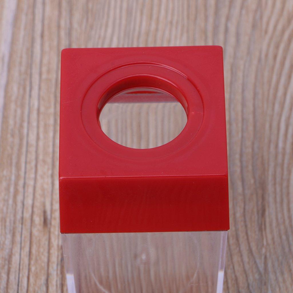 colore casuale quadrato Analysisty Porta fogli con clip magnetica