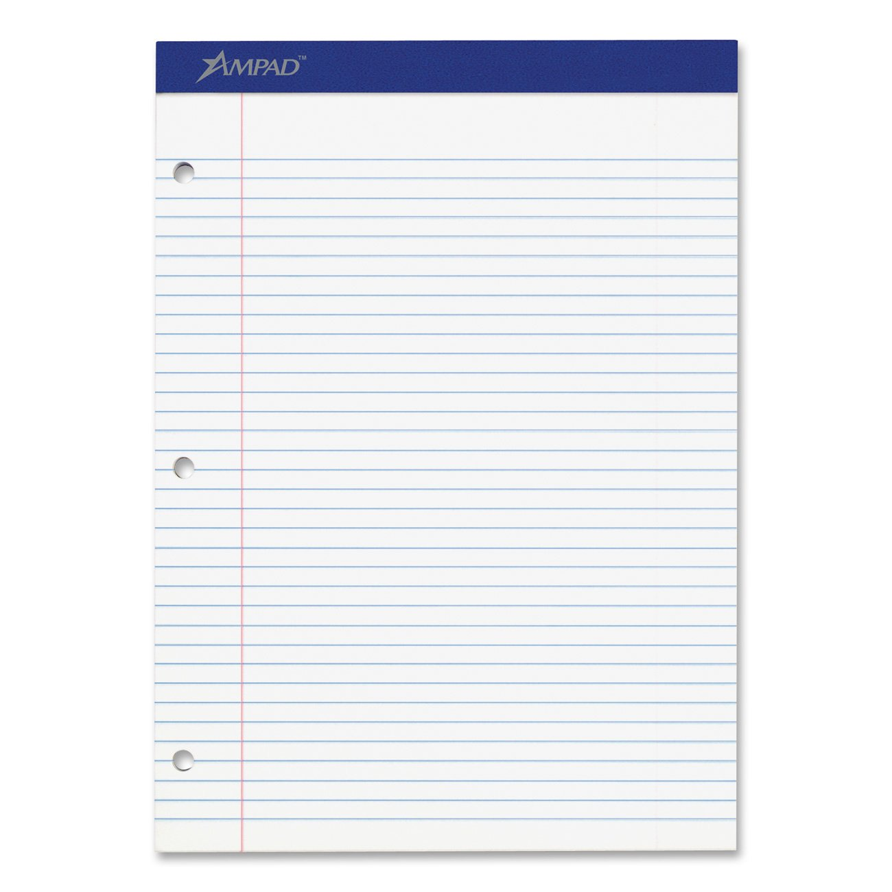 Amazon Ampad Evidence Pad Dual College Ruled Size 85 x – Print College Ruled Paper