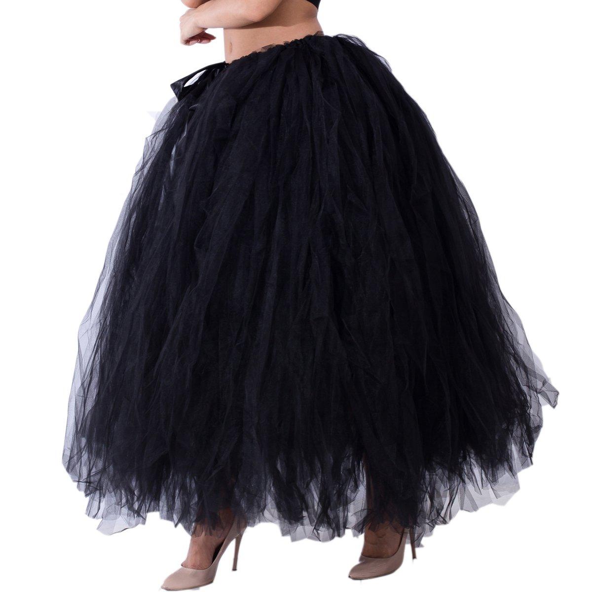 280e4aae7b Plus Size Full Length Tulle Skirt
