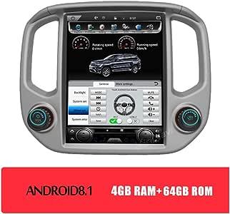Android 12,1 Pulgadas Navegador GPS Coche Para Chevrolet GMC GMC Colorado Canyou 2014-2018 Compatible Con Wifi/Bluetooth / 4G / Control Volante,4gb+64gb: Amazon.es: Coche y moto