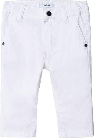 BOSS Pantalón Chino Sarga algodón Infantil