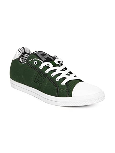 Reebok on Court Men s Green Canvas Shoes - 10 UK  Buy Online at Low ... 77c44d675