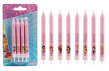 Lote de 8 velas Princesas Disney – Decoración para pasteles ...