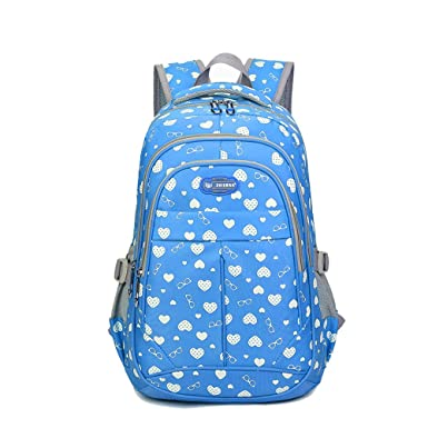 Amazon.com | Sweetheart Backpack for Girls Children Kids Schoolbag ...