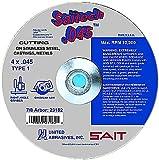 United Abrasives- SAIT 23172 Type 1 4 by 0.045 by 5/8 United Abrasives- SAITech Cutting Wheel, 50-Pack